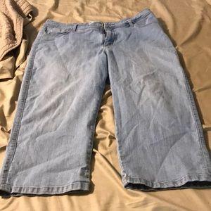 Size 16. Jewels on back pockets